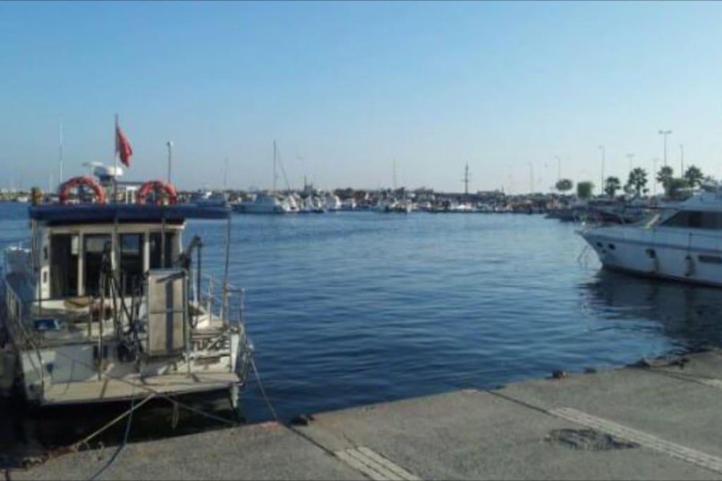 Yeşilköy marina..
