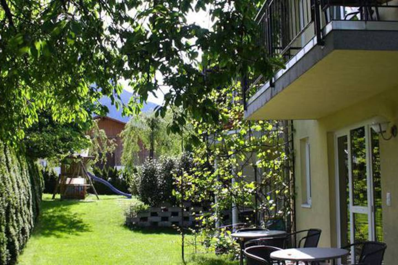Appartement 2-6 Pers mit Garten