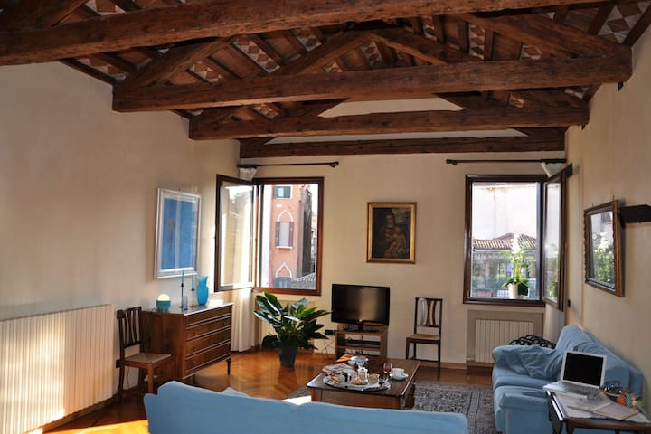 Venice Blue on Canal apartment