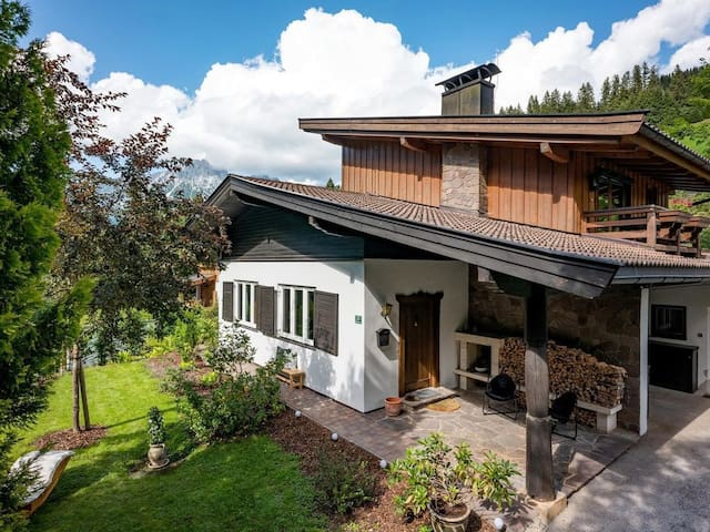 Large alpine style house in the heart of Kitzbühel