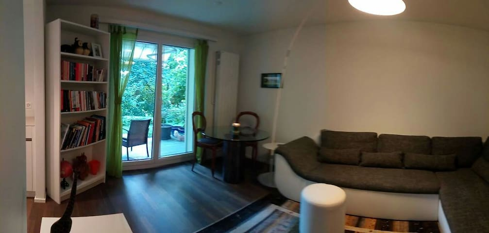 Fully furnished central Zug apartment