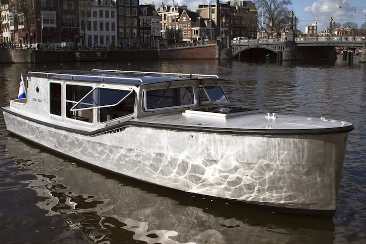 Luxurious boat & private canal tour - Amsterdam - Barca