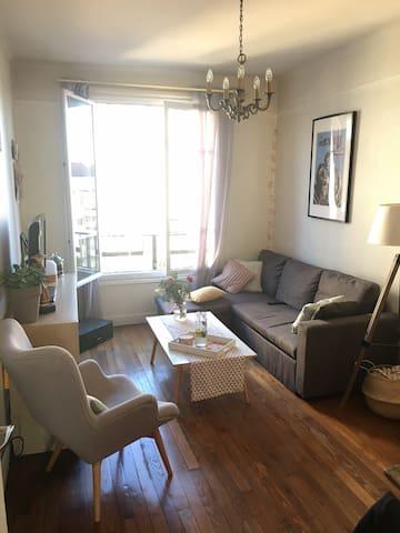 Appartement chaleureux proche Montmartre / Pigalle - Saint-Ouen - Appartement