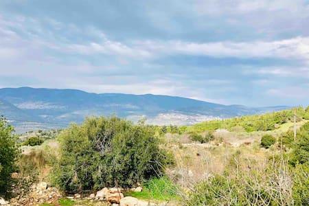Quiet cottage in the pastoral Galilee hills