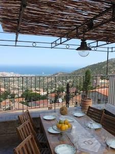 Maison Corse/ Vue MER/ Piscine - Santa-Reparata-di-Balagna