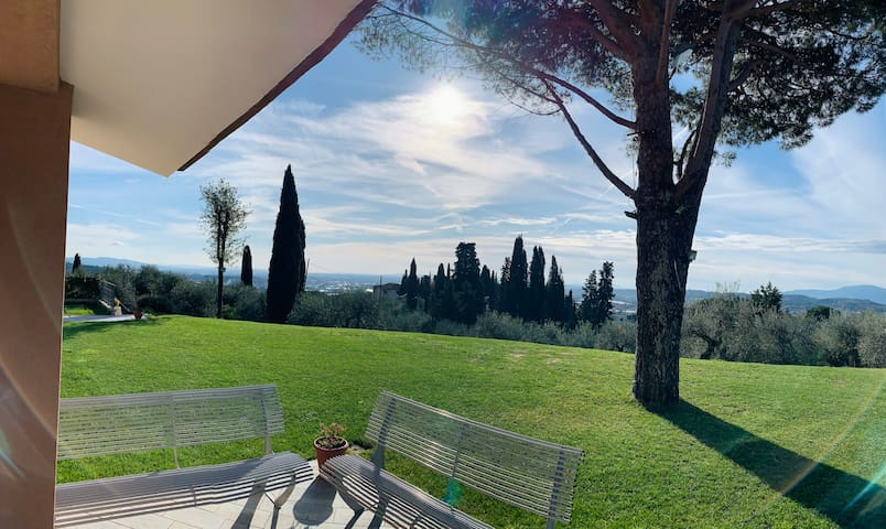 Relaxing Tuscany landscape