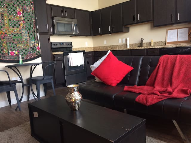Cozy apartment within walking distance of soco - Austin - Apartamento