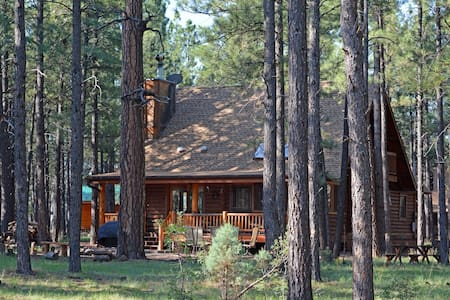 Log Cabin on National Forest - Pinetop - 獨棟
