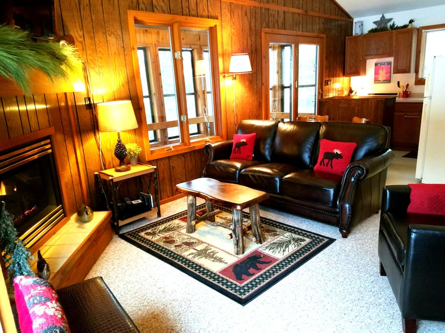Welcome to The Loon Song Cabin.  Enjoy the Rustic Comfort ...