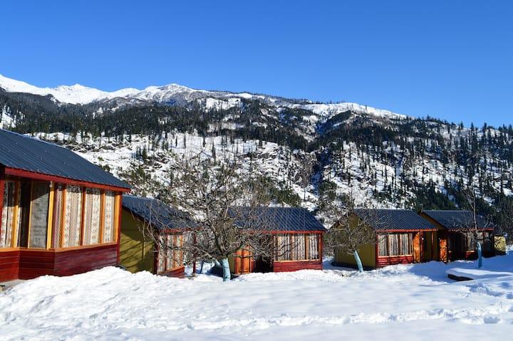 Private rooms Adventure Camp