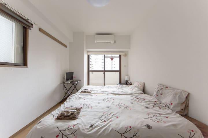 Dotonbori Shinsaibashi cozy apt 46
