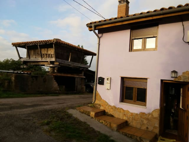 Casina completa/Small town house in Colunga! - Colunga - บ้าน