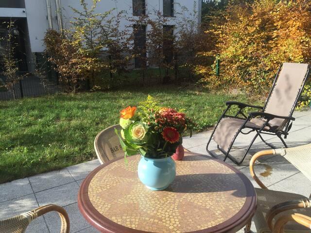 Charmant f2 en rez de jardin - Sélestat - Apartment