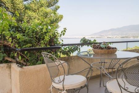 Verga, panoramic view, 4+2 persons - Messinia - Villa