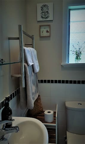 Your en-suite shower room.