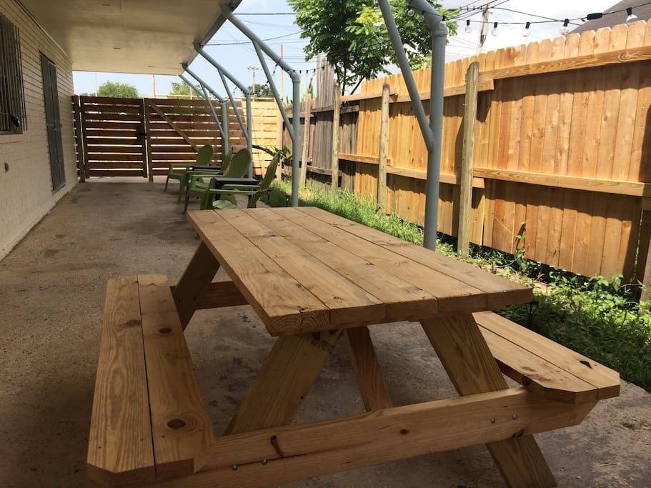Furnished Patio!