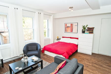 Charming studio in old-Rosemont - Montreal - Wohnung