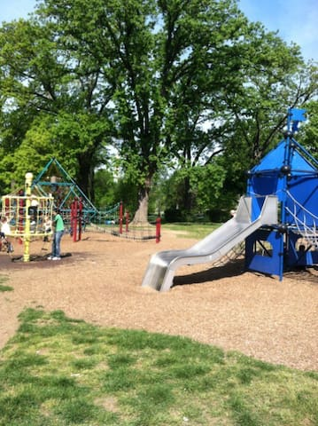 Another local playground and recreation area