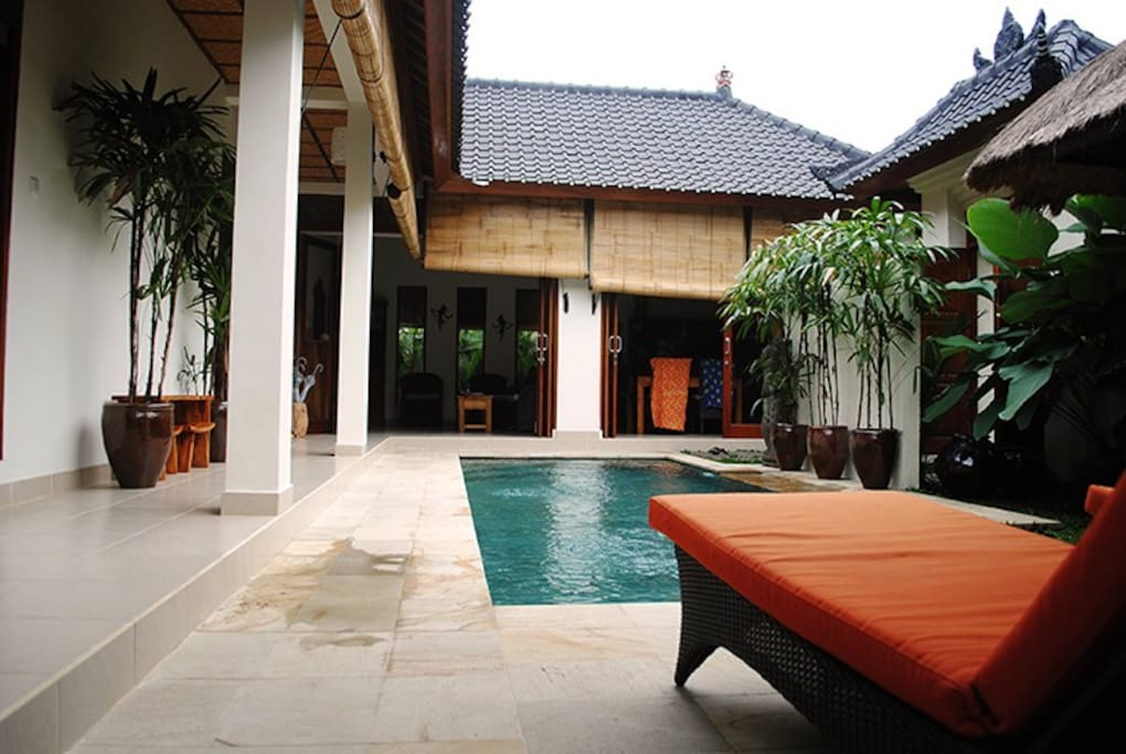 Villa Santai - a private sanctuary.