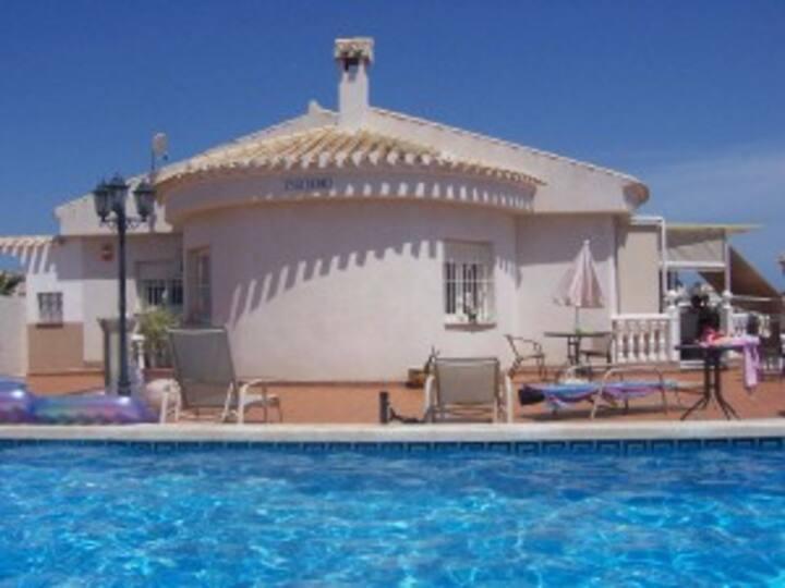Big Apartment in Urb. La Marina and Big Pool