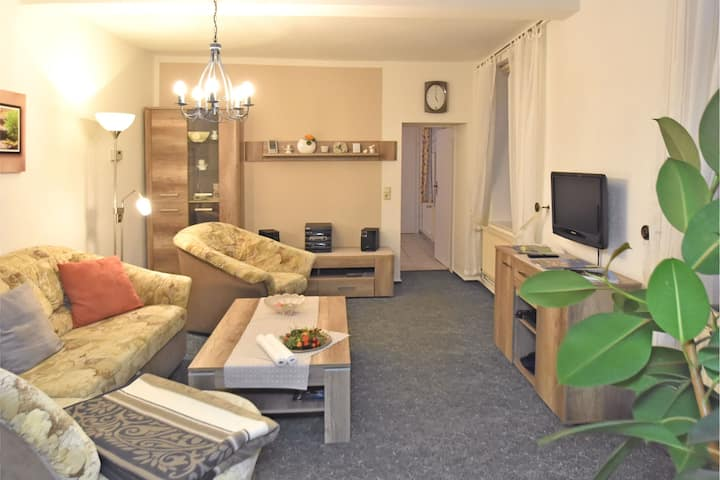 Spacious Apartment in Blankenburg Harz near Ski area