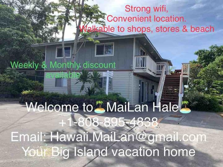 MaiLan Hale A: Balcony/Ocean View, Great Location