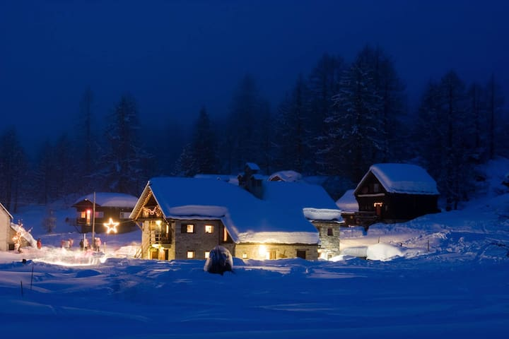 La Rossa Suite - Alpe Devero - BACENO - Cabaña