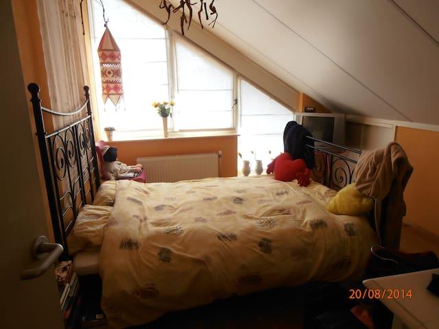 mooie bovenkamer in een ruim huis