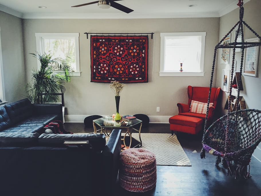 Clean Convenient Cozy Modern Bohemian Suite Houses For Rent In Charlotte North Carolina