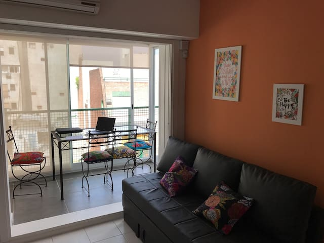 Departamento Barrio Norte  Bs As luminoso 3/4 PAX