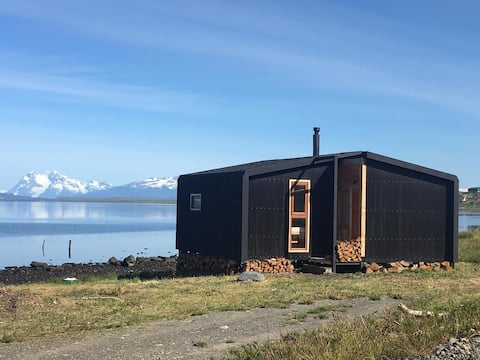 John's Cabin met een Uitzicht