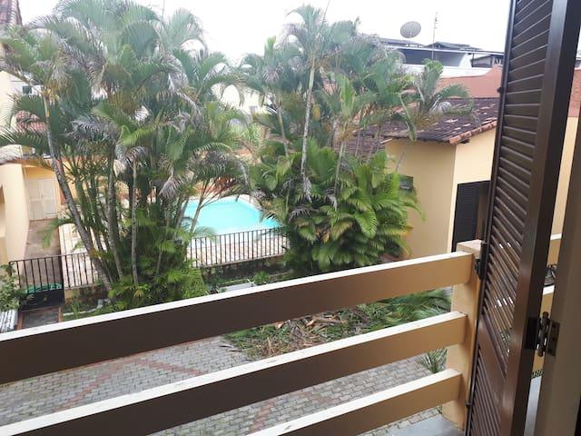 Visão da varanda da suite 1