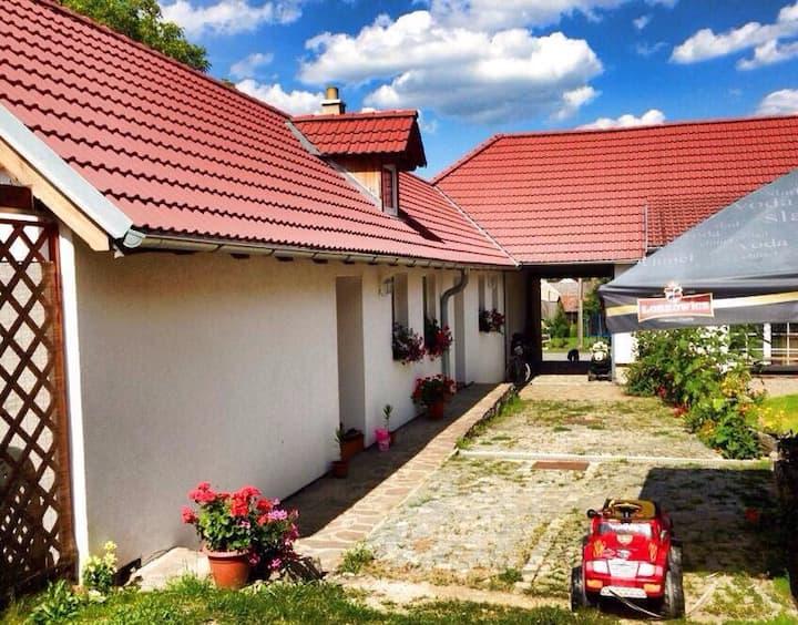 Rodinné apartmány na Třeboňsku