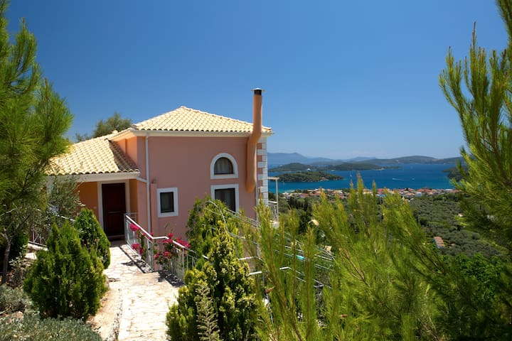 Spectacular Villa Olive with panoramic views.