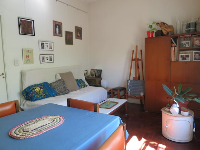 Big and comfortable room with private balcony. - Buenos Aires - House