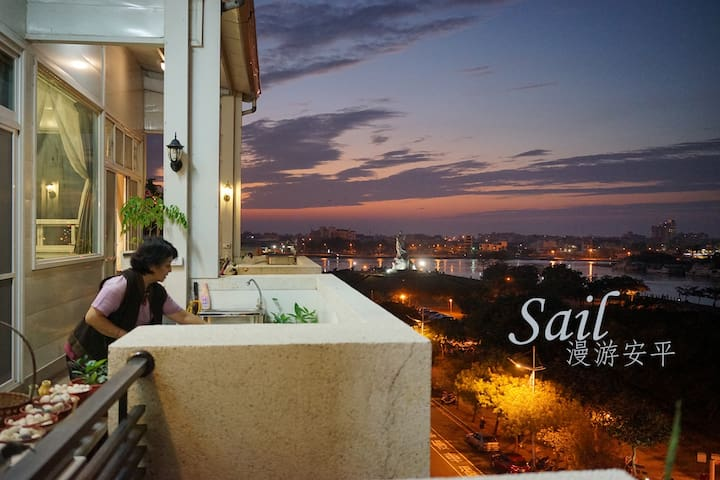 Beautiful Villa by the Sea·Sail Anping with love - Anping District