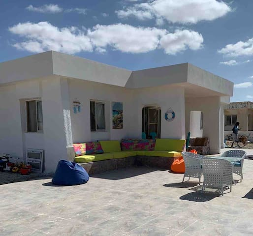In the Heart of sidi henish on a private island
