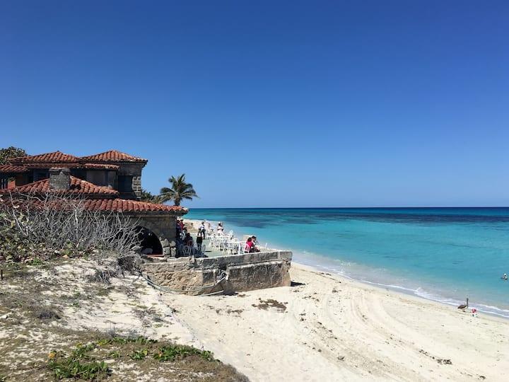 Reinier's beach house.