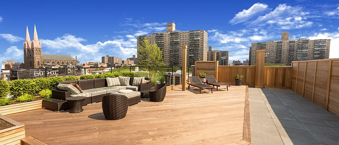Your communal roof deck