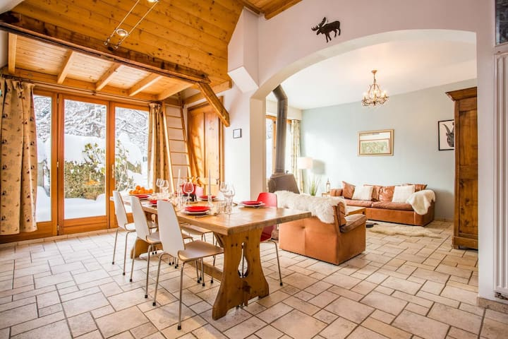 Charming Chalet 5 minutes from the centre