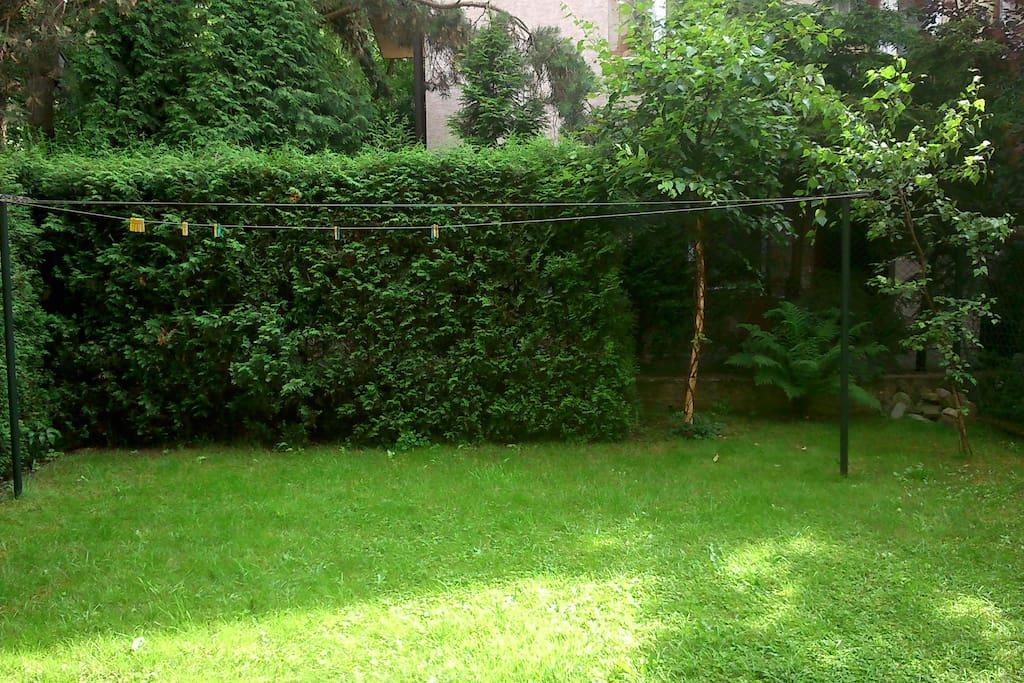 Ogródek do wyłącznej dyspozycji gości