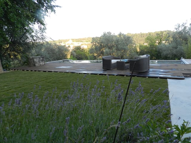 Drôme Provençale, chambre de charme - Saint-Restitut