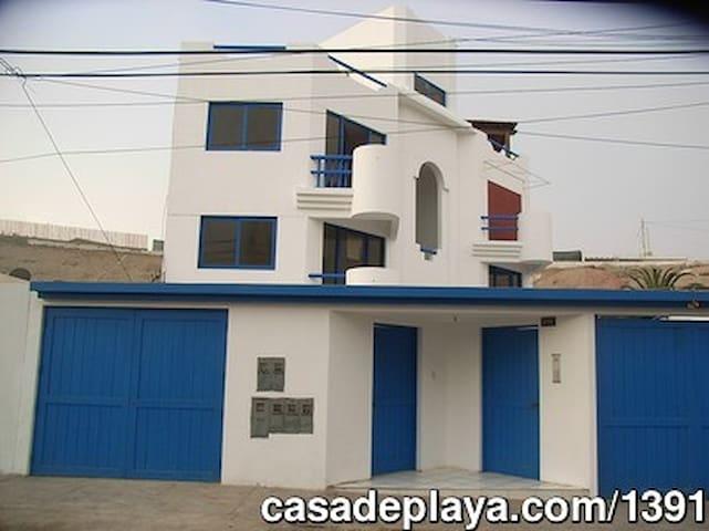 Hermosa Casa de Playa - Lima - Appartement
