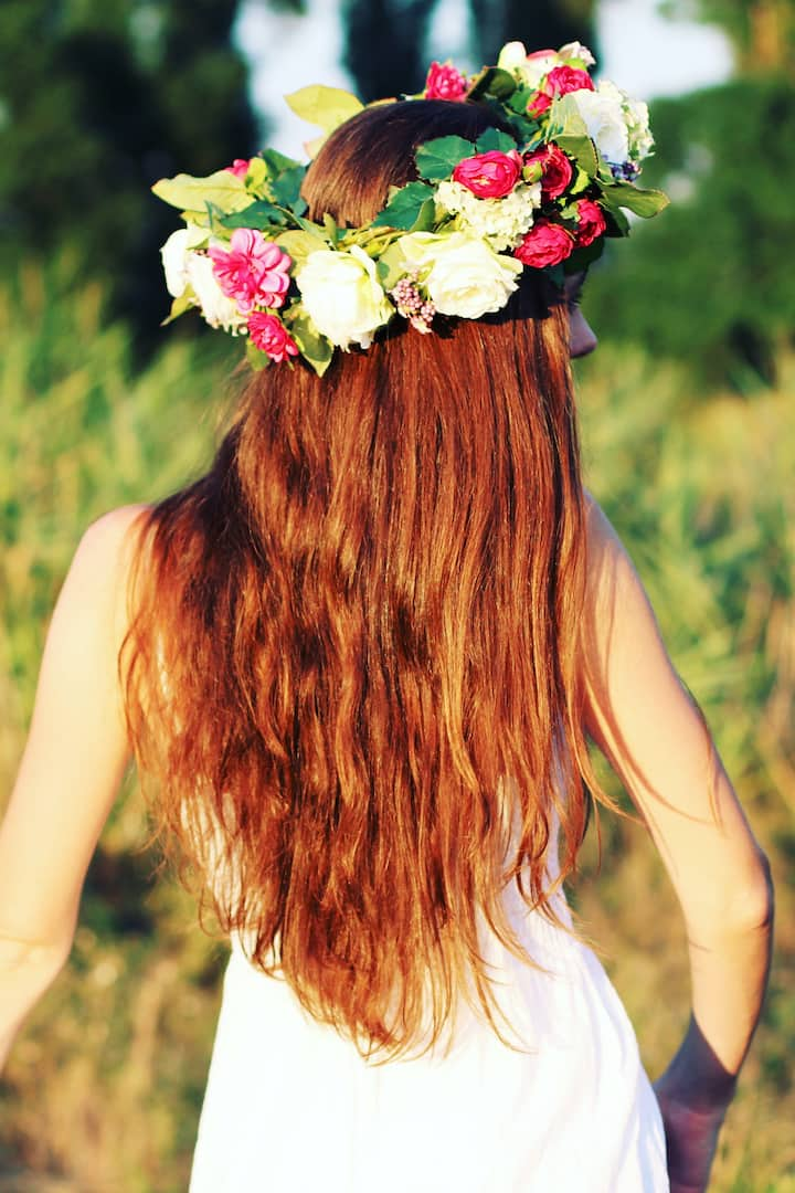 Full floral crown
