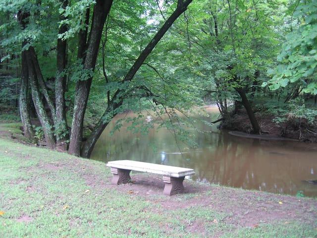 All season flowing creek...swimming and fishing