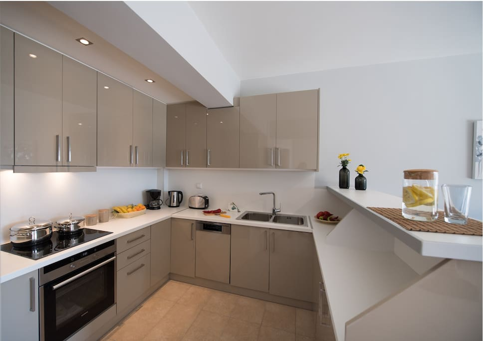 Aspect of the kitchen