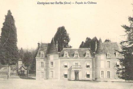 Chateau & Haras au coeur du Perche - Champeaux-sur-Sarthe - Schloss
