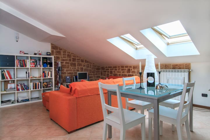 Cozy attic Milan, Malpensa, Expo - Mesero - Appartement