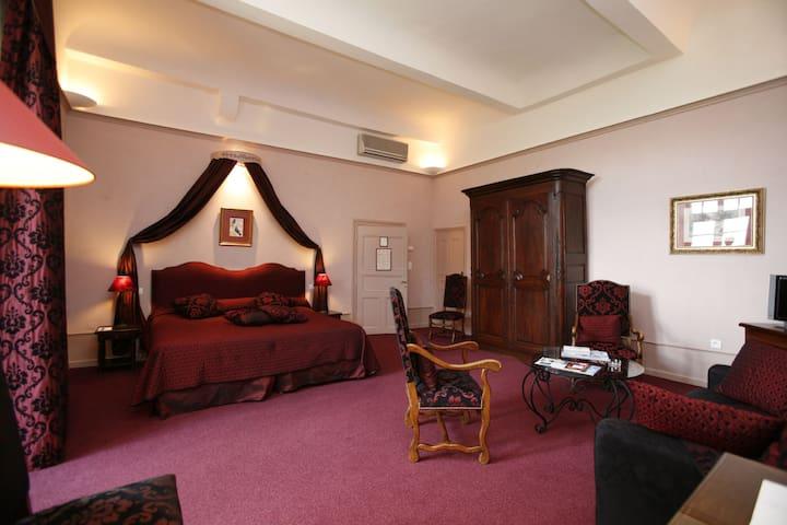 Chambre Prestige dans le Château de Colette - Varetz