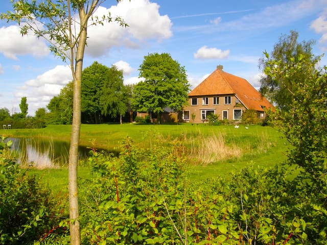 Holiday home 3 bedrooms 3 bathrooms - Giethoorn - บ้าน
